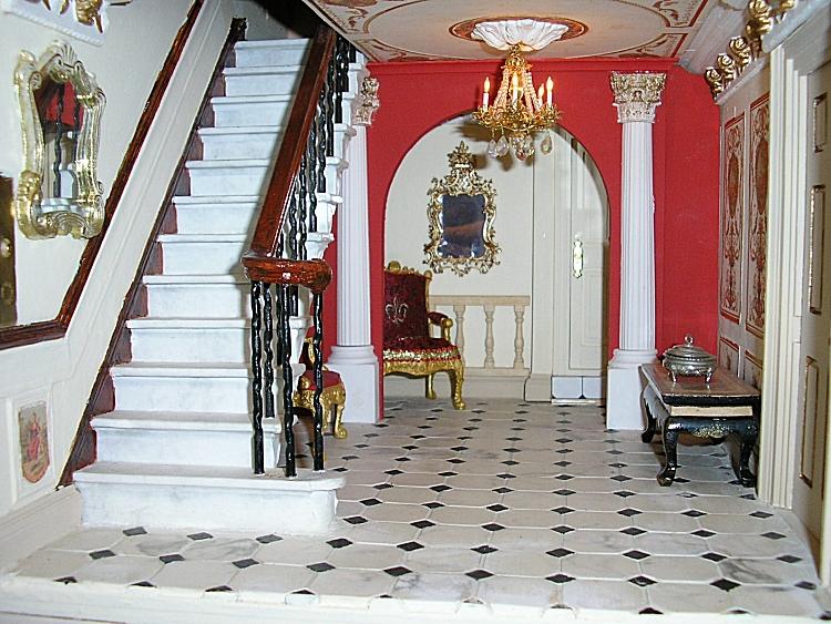 Georgian Dolls House Main Entrance Hall